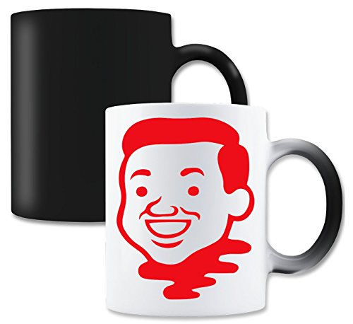 LukeTee Joan Cornella Avatar Red Face Magische thee-koffiemok