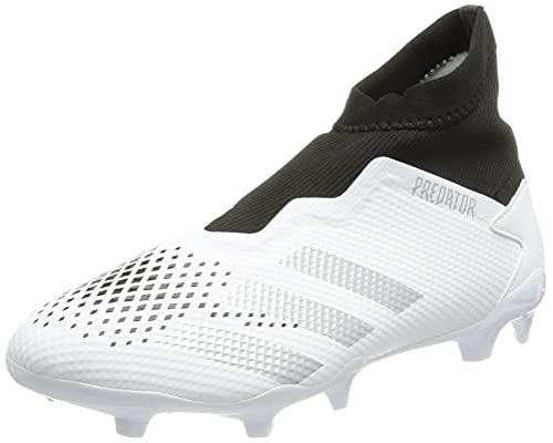 adidas Predator 20.3 LL FG, Zapatillas de fútbol Hombre, FTWBLA/Plamet/NEGBÁS, 45 1/3 EU ✅