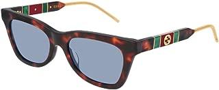 Sunglasses Gucci GG 0598 S- 002 Havana/Blue