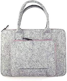 Felt Universal Laptop Bag Notebook Case Briefcase Handlebag Pouch For Macbook Air Pro Retina 15.6inch Men Women