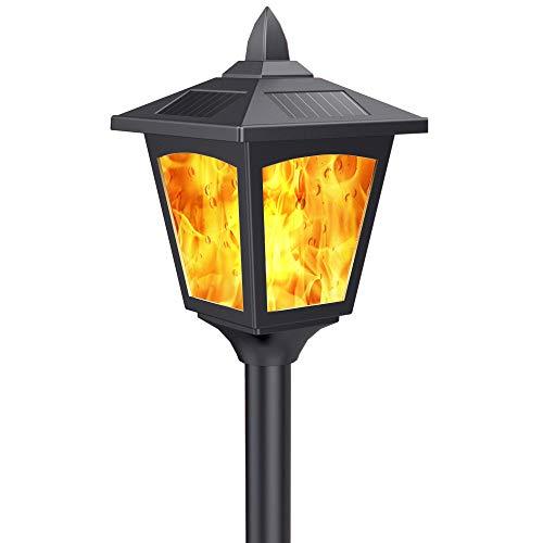 Solar Torch Lights Outdoor Decorative 43' Torches Flickering Dancing Flames Garden Landscape Lanterns Patio Pool Pathway Light