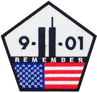 9-11 Remember U.S. Flag Pentagon Patch, Patriotic Patches