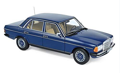 Norev Mercedes 230 Limousine E-Klasse W123 1980 blau Modellauto 1:18