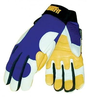 John Tillman Gold/Pearl True Fit Ultra Top Grain Goatskin Thinsulate Lined Cold Weather Gloves, English, 30.68 fl. oz., Plastic
