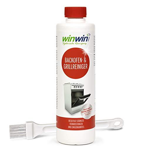 winwin clean Systemische Reinigung - Backofenreiniger 500ml mit Pinsel (geeignet für proWIN Backofenreiniger) I I NUR Kurze Zeit