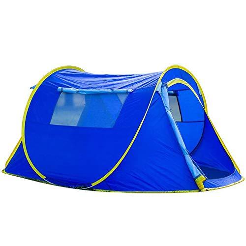 Zhyz Tent Automatisch gordijn buitenshuis 3-4 pins voor het openen van parken, camping, strand, picknick en vissen