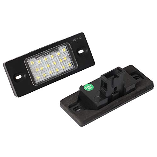 LED Kennzeichenbeleuchtung Nummernschildbeleuchte für Passat Golf 4 5 Variant Tiguan Touareg