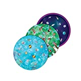 Playte Memory - Game Plate for Children - Healthy Eating Habits in Kids - Turn Dinner Time Into Play Time with Jungle, Space & Under the Sea Board Game Plates - BPA Free Dishwasher Safe - Set of 3