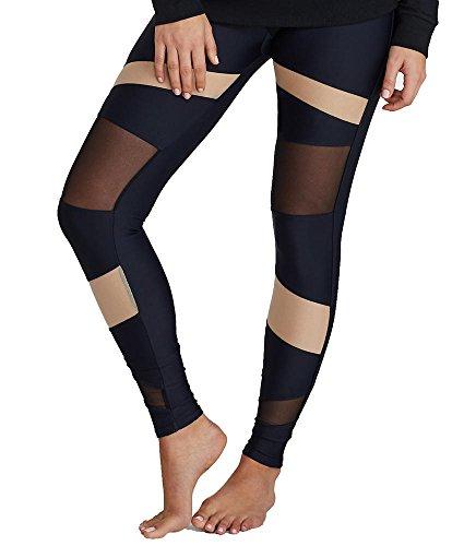 Onzie Damen Bondage Legging - Schwarz - Medium/Large
