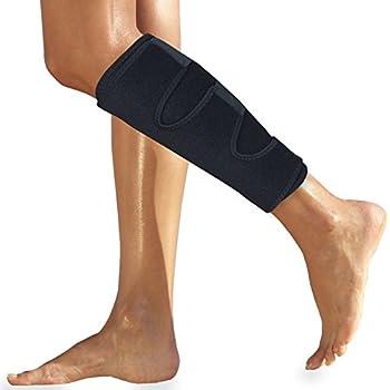 Calf Brace for Torn Calf Muscle - Shin Splint Brace - Lower Leg Neoprene Runners Injury Wrap for Strain Tear Splints for Men and Women - Calf Compression Sleeve - Shin Splint Compression Sleeve