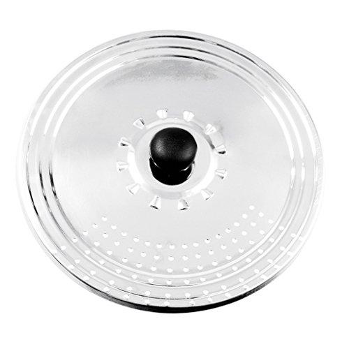 Equinox 502734coperchio, Acciaio inossidabile, acciaio inox,  agiustabile per  22cm/24cm /26 cm
