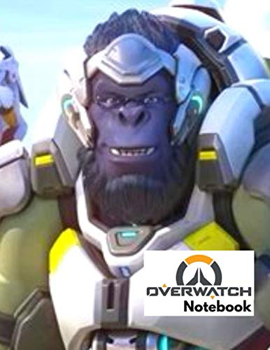 OVERWATCH Notebook: (8.5 x 11 inches) 100 pages Notebook - Fun For Kids, Boys, Girls and Adults