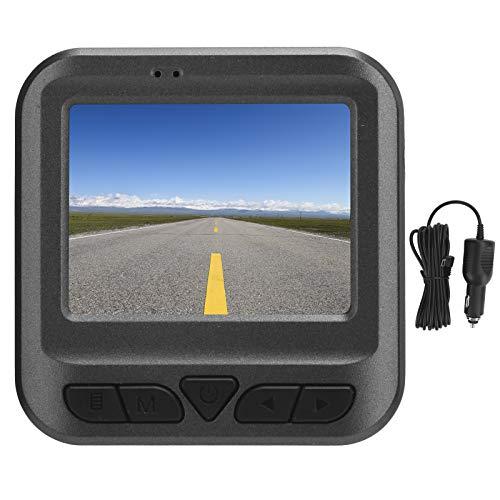 Dash Cam 1080P Full HD DVR, grabadora de datos de automóvil con pantalla de 2 pulgadas, mini cámara de automóvil con sensor G modo WiFi Modo nocturno, cámara de tablero con visión nocturna, fácil de u