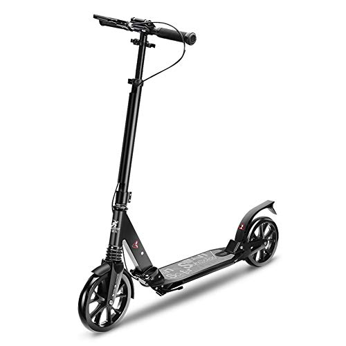 Amazing Deal Scooter Kick Folding Adult with Disc Hand Brake, Adjustable Handle Grip, 2 Wheeled Kick...