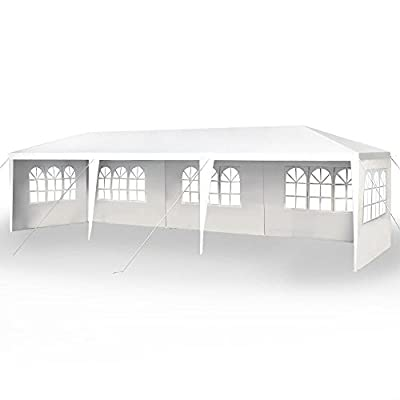 FDW 10'x30' Party Wedding Outdoor Patio Tent Canopy Heavy Duty Gazebo Pavilion -5
