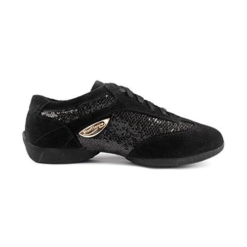 PortDance - Dance Sneakers PD01 Fashion - suède/lak