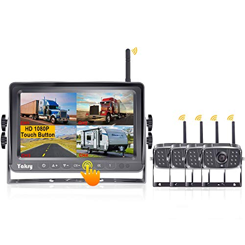 Yakry YA27S HD 1080P Digital Wireless 4 Backup...