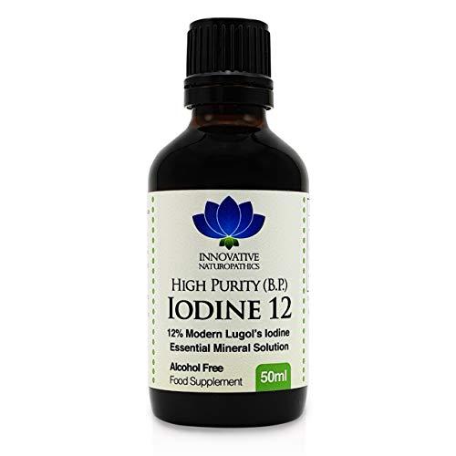 Iodine - 12% Lugols Iodine Solution - 50ml