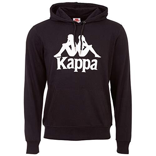 Kappa Taino – Sudadera con Capucha para Hombre, Estilo Retro, Talla S-XXL, Hombre, Sudadera con Capucha., 705322, Caviar, XX-Large