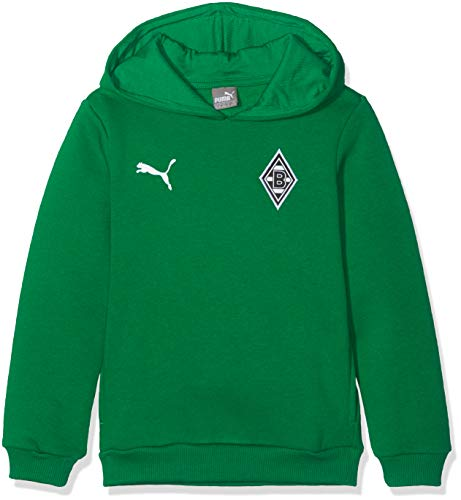 PUMA Jungen BMG Badge Hoody Jr Sweatshirt, Power Green, 152