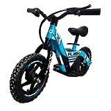 BIWOND Bicicleta Eléctrica Infantil Flash (Motor 100W, 6Km/H, Batería de Litio, 300 Ciclos de Carga, 4 a 8 Años, Sillín Ajustable, Peso Máximo 40Kg) - Azul