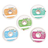 5PCS 1.5m Solder Wick Desoldering Braid Wire Solder Remover 1.5/2.0/2.5/3.0/3.5mm to Choose for Soldering Iron Station