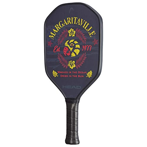 HEAD Fiberglass Pickleball Paddle - Margaritaville Washed in the Ocean Paddle w/ Honeycomb Polymer Core & Comfort Grip