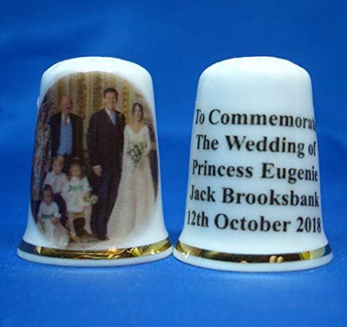 Birchcroft Porcelain China Collectable Thimble - Princess Eugeni