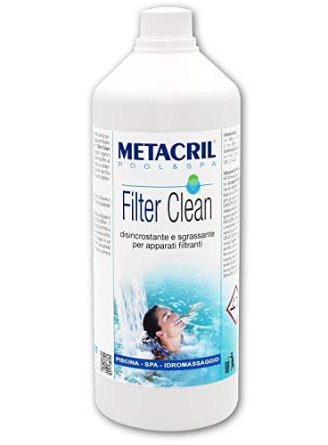 Metacril Filter Clean 1 l. - Desincrustante, Sanificante, de