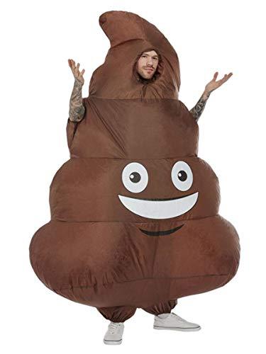 Smiffys Inflatable Poop Costume, Brown