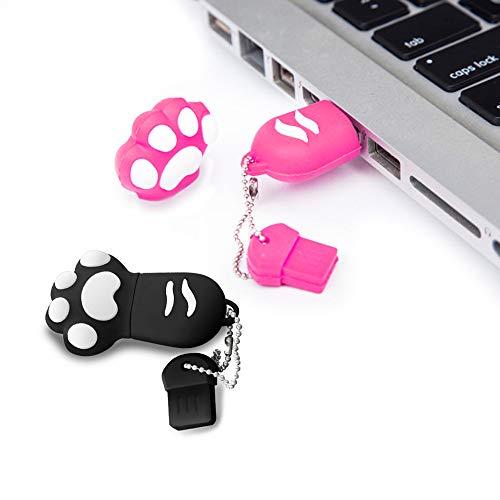 2 Pack 32gb USB-Sticks 32gb USB Flash Drive 32gb Speicherstick 32gb USB-Flash-Laufwerk 32gb Pen Drive 32gb Feder-Antrieb (32GB*2PCS)