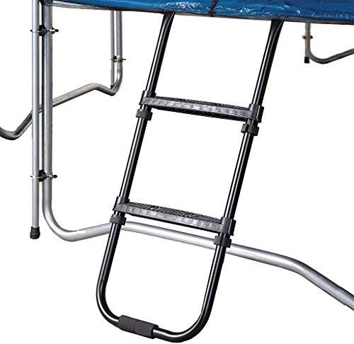 Pure Fun Universal Trampoline Ladder with 2 Platform Steps, 250lb Weight Capacity