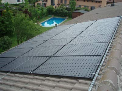 OKU Solarabsorber Komplettset bis 24 m² Wasseroberfläche (12 Kollektoren)