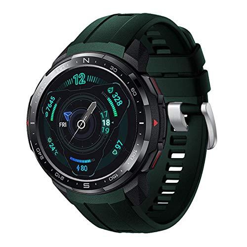 YUYAN Bracelet de rechange en silicone pour Huawei Honor GS Pro - Accessoire tendance et décontracté - Réglable