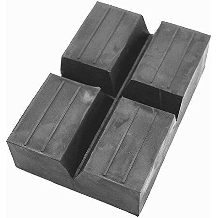 Yaobluesea 4 Stück Gummiauflage Wagenheber Gummiblock Hebebühne Wagenheberaufnahme Für Wagenheber Und Hebebühnen 7 5x 7 5x 5cm Auto