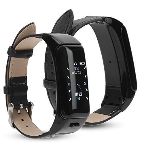 BOLORAMO Reloj Inteligente, 2 En 1, InaláMbrico, Inteligente, con Bluetooth, Tipo De TapóN para Los OíDos, Ejercicio FíSico, Pulsera Deportiva, Monitor Saludable, Compatible con iPhone Android