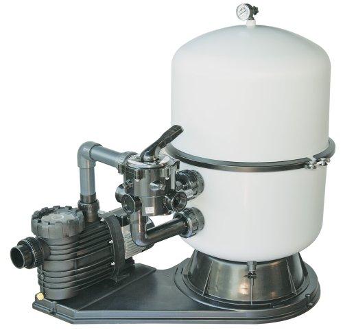 Bilbao Sandfilteranlage 400mm Kessel mit Aqua Plus 8 Pumpe 8m³/h 230V 0,6kW