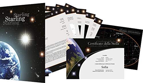 Registro de stelle Starling - Regalare una stella - Comprare una stella - Dare il nome ad una stella (Starlet)
