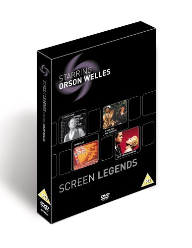 Screen Legends - Orson Welles: Citizen Kane / A Man For All Seasons / Waterloo / The Lady From Shanghai [DVD] by Orson Welles
