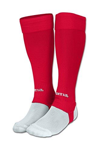 Joma Leg Medias de Juego, Hombres, Rojo, S