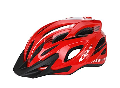 Ecoshirt 6I-55K2-LFNF Casco Bike Helmet Casque Helme Ges Ray, M, L MTB...