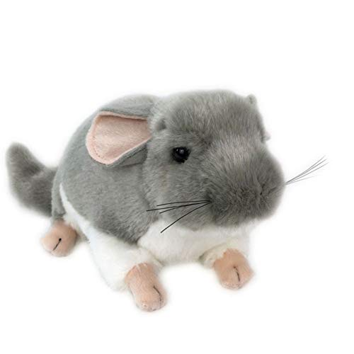 hbz11hl Display Mold Realistic Chinchilla Mouse Animal Plush Stuffed Doll Toy Home Desktop Decor Bed Time Stuffed Plush Toys Birthday Gift for Kids Thanksgiving Day Best for Gift for Girls and Boys
