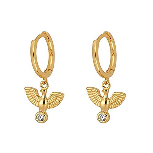 Pendientes Mujer Pendientes De Aro Pendientes De Plata De Ley 925 Pendientes De Aro Colgantes Pendientes De Oro Mujer-Oro