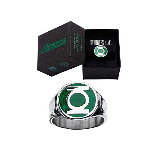 Toy Zany DC Comics The Green Lantern Logo Ring | 8