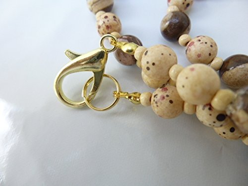 Unusual Tan Brown Beads Max 81% OFF Necklace List price