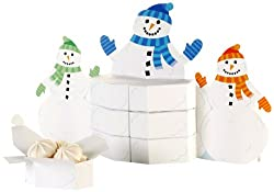 Creative Converting Snowman Family Favor Box Centerpiece