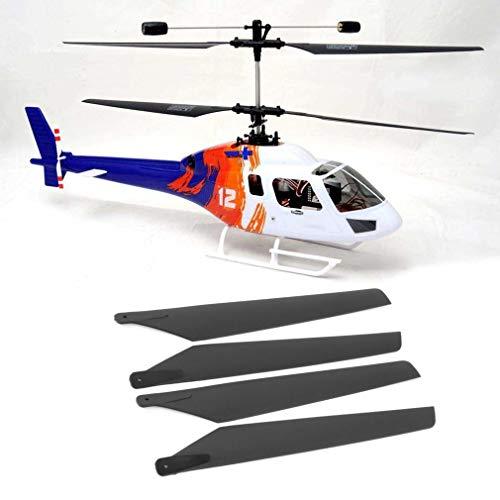 KinshopS Cuchillas principales para Esky LAMA V3 V4/walkera 5#4 5-8 RC Helicópteros Apache AH6