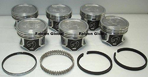 Jeep 4.0/4.0L/242 Sealed Power Hypereutectic Piston+Cast Ring Kit/Set 96-06 (3.895