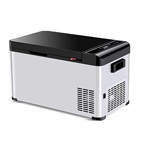 Stijlvolle eenvoud 18 liter draagbare autocompressor koelkast met vriesvak, 12 V/24 V, CZ