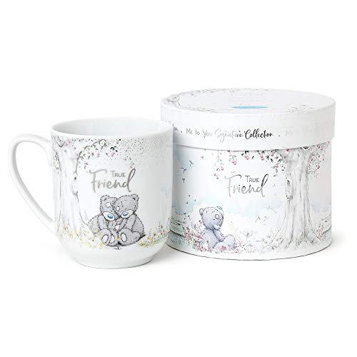 Me To You AGM01045 True Friend-Taza con diseño de osito, cerámica